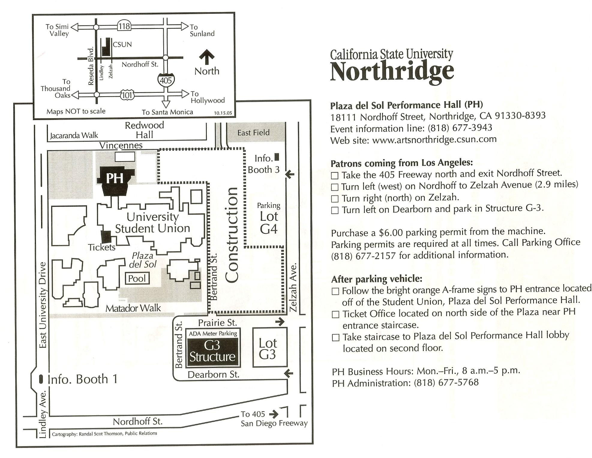 LA/NORTHRIDGE - SIDE SECTIONS